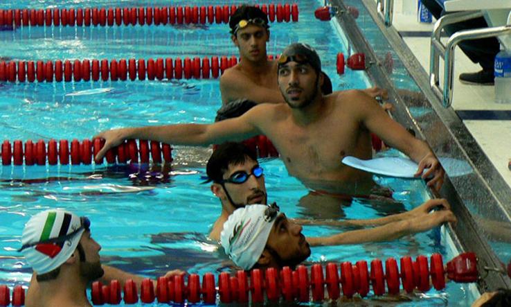 دورة تخصصية فى مجال تدريب السباحة والانقاذ الرياضى